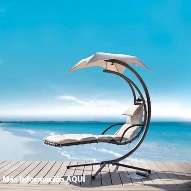 Tumbona Colgante de Jardín Piscina o Terraza de Diseño Único elegante confortable diferente