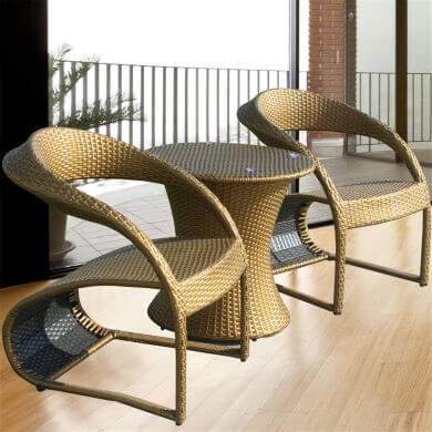juego de sillas y mesa de ratán elegantes de diseño modelos exclusivos envío gratis ofertas