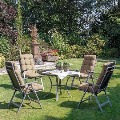 cojines almohadas muebles jardín terraza impermeable exterior intemperie rayos solares resistente