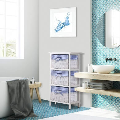 muebles banos mimbre madera ratán decoracion interiorismo ofertas online