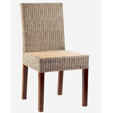 sillas de mimbre ratán bambú madera PE comprar desde casas ofertas envío gratis online