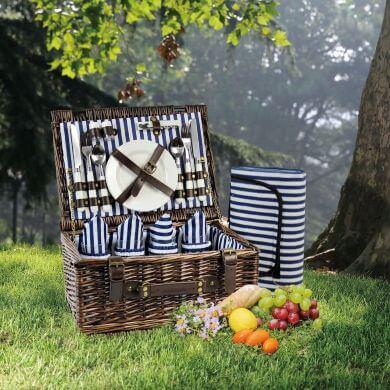 Cesta maletin mochila bolsa de picnic campo playa montaña viaje senderismo excursión
