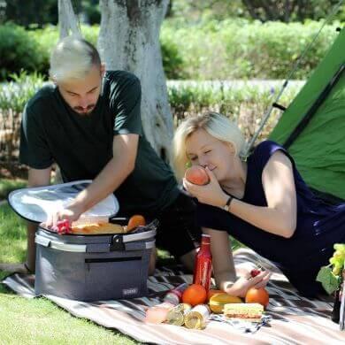 cetas almacenamiento impermeables alimentos lonchera campo playa trabajo viajes excursiones camping picnic