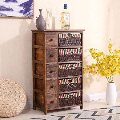 cómodas muebles de hogar dormitorio comedor baño sala salón recibidor de mimbre madera tela diseños unicos los mejores