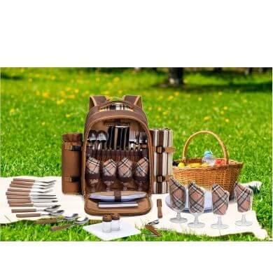 mochilas de picnic para el campo la playa la montaña y el trabajo ideal para largas estancias fuera de casa