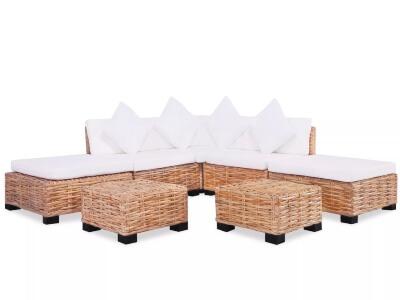 sofá sillon mimbre rattan terraza jardín oferta barato rebaja en muebles de terraza sillones y sofas de mimbre
