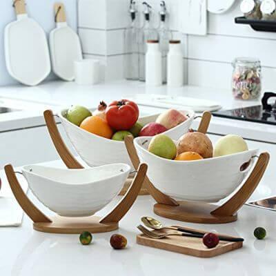 cestas cestos capazos frutas de temporada frutos