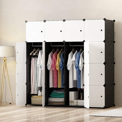 armario portatil desmontable organizador ropa accesorios