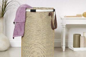 cubo ropa sucia lavanderia lavadora baño dormitorio