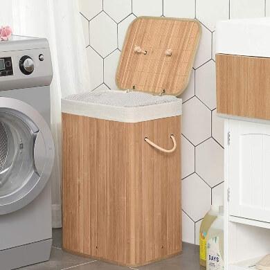 cesto ropa sucia cubo canasto lavandería
