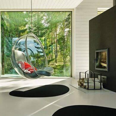 Novedad silla cristal decorativa de diseño único lo mejor
