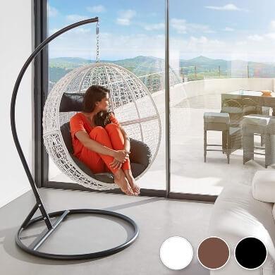 Fantásticas sillas colgantes de diseño precios económicos baratos envío a casa gratis venta online comprar en oferta