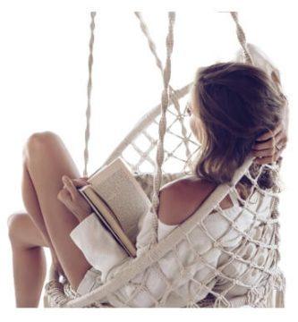 sillas colgantes columpio hamaca tumbona colgante de tela tejido artesanal