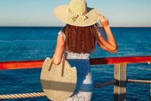 Capazos de mimbre ratán de playa piscina paseo toalla verano