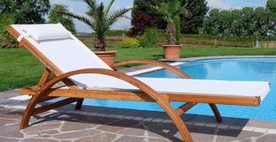 Tumbonas de Jardín hamaca playa plegable madera exterior piscina playa terraza