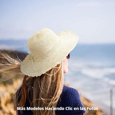 Sombreros de paja mujer hombre niña niño verano playa gorra panamá modelos ofertas diseños elegancia
